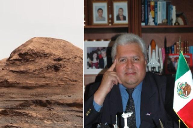 Nombran montaña en Marte 'Rafael Navarro', en honor al científico mexicano