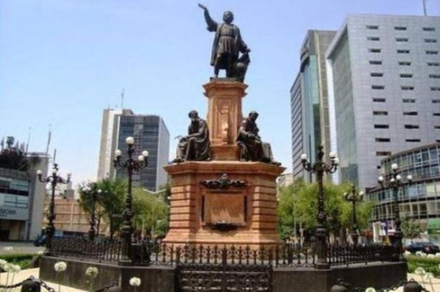 Monumento de Colón será reubicado de Reforma a Polanco