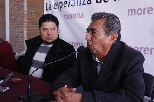 No responden aún petición de Abraham Quiroz para ser poblano