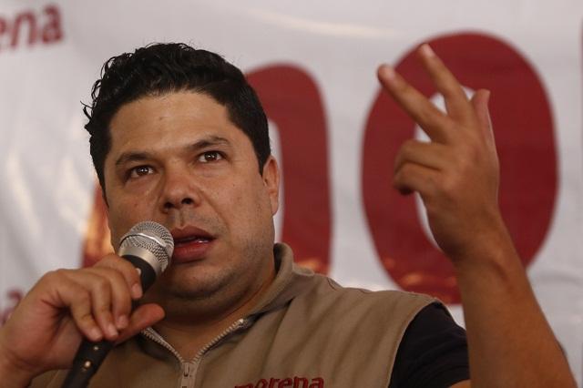 Iniciativa anticorrupción de RMV, medida electorera, señala dirigente de Morena