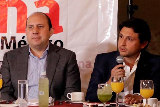 Espinosa y Manzanilla ahora aspiran al Senado por Morena