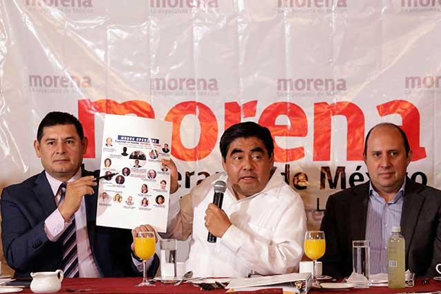 Manzanilla y Armenta también quieren candidatura en Morena