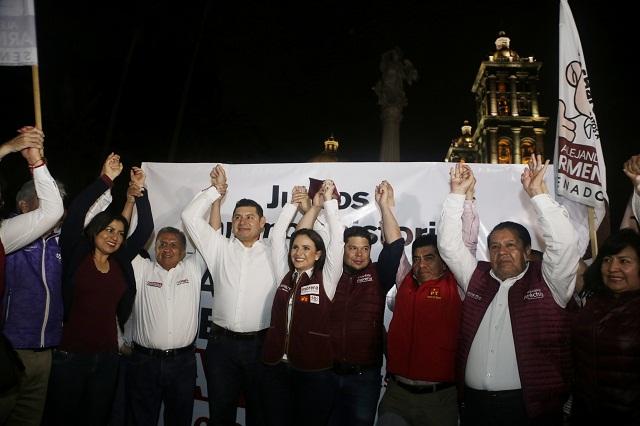 Sancionará Comuna de Puebla a Morena por usar el Zócalo