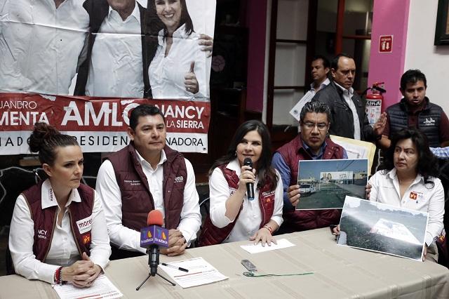 Denuncia amenazas candidata de Morena en Texmelucan