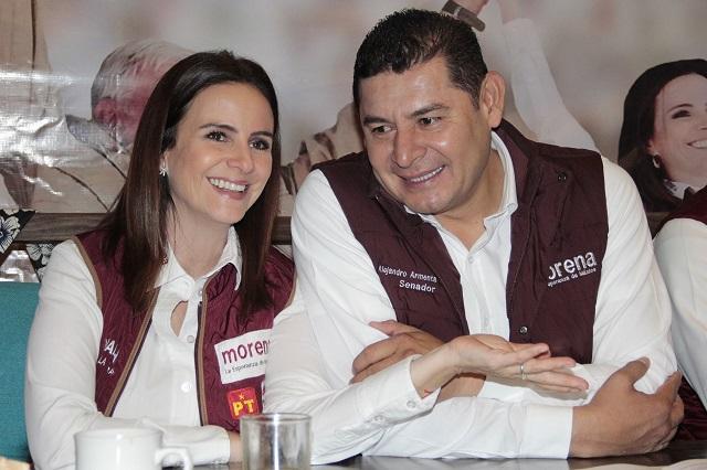 Candidatos de Morena exigen a Gali seguridad en la elección