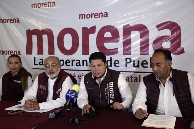 Morena: riesgo para seguridad de candidatos en 12 municipios
