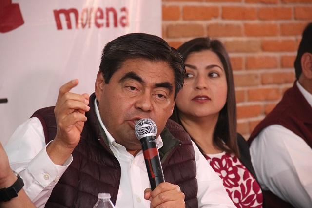 Manipulan cómputo para quitar mayoría legislativa a Morena: Barbosa