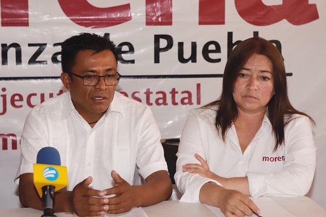 Secretaria de Morena impugna sanción por presunto desfalco