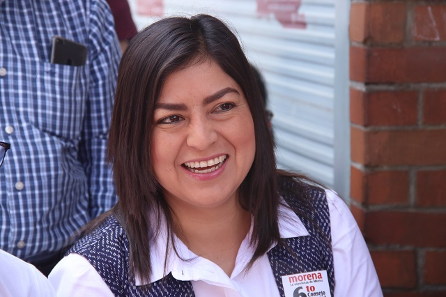 Invita Rivera Vivanco a llevar flores blancas a su toma de protesta