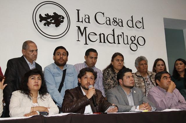 Morena frena el Congreso y pide mesa de diálogo con Martha Erika