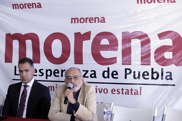 Armenta pidió cargos en gobierno para apoyar a Barbosa: Morena
