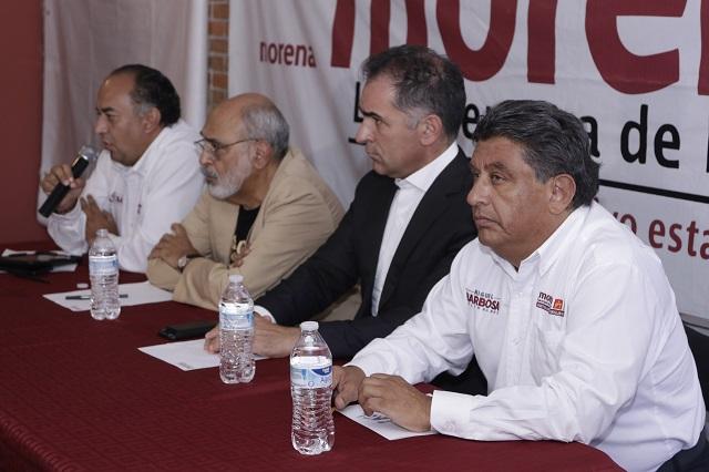Cárdenas intenta justificar su derrota, dice vocero de Morena