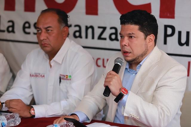 Acusa Morena a Eukid de violentar elección; el ex legislador lo niega
