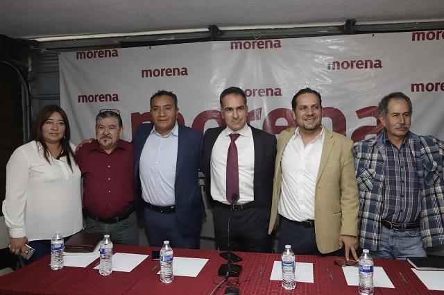 Surge bloque en Morena contra elección de estado en Puebla