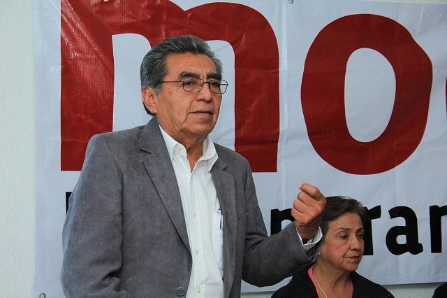 Militantes no quieren en Morena a oportunistas y corruptos: Quiróz
