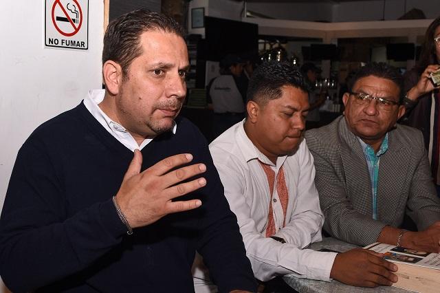 Propone diputado Carvajal delegados especiales para Morena