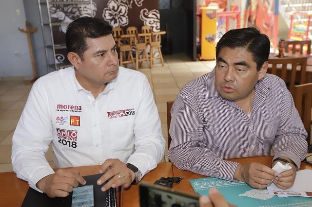 INE aún investiga a Armenta y a Barbosa por gastos de precampaña