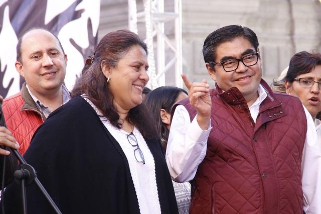 Morena arranca en Puebla con amplia ventaja, según El Universal