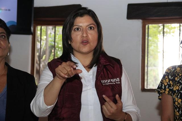 Pide Claudia Rivera a consejeros evitar que CEN nombre a candidato