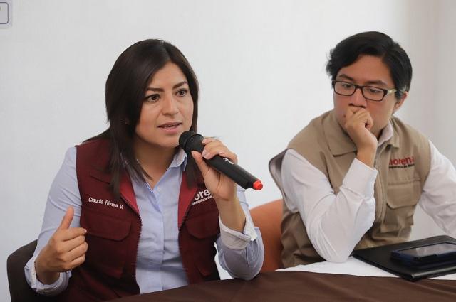 Piden candidatos de Morena frenar la reelección de Moreno Valle
