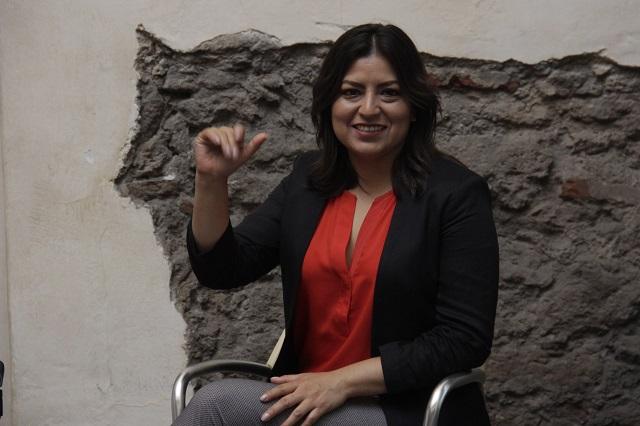 Destaca Claudia Rivera méritos de candidatos no sólo de AMLO