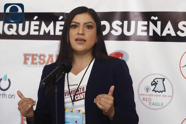 Denuncias de la oposición, sólo mediáticas, dice Claudia Rivera