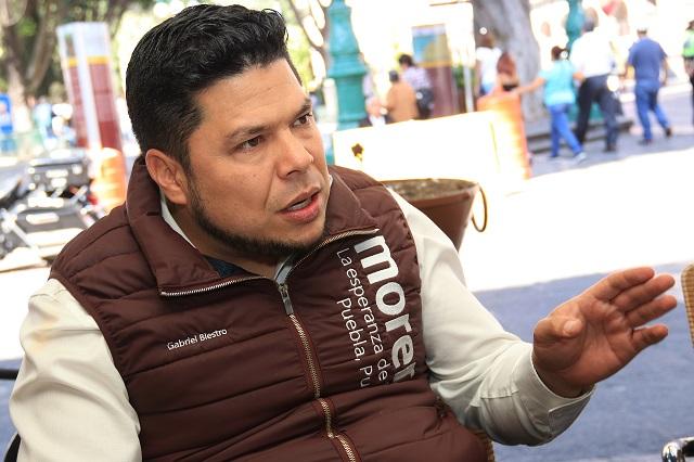 RMV está detrás de la candidatura de Villarroel, acusa Morena