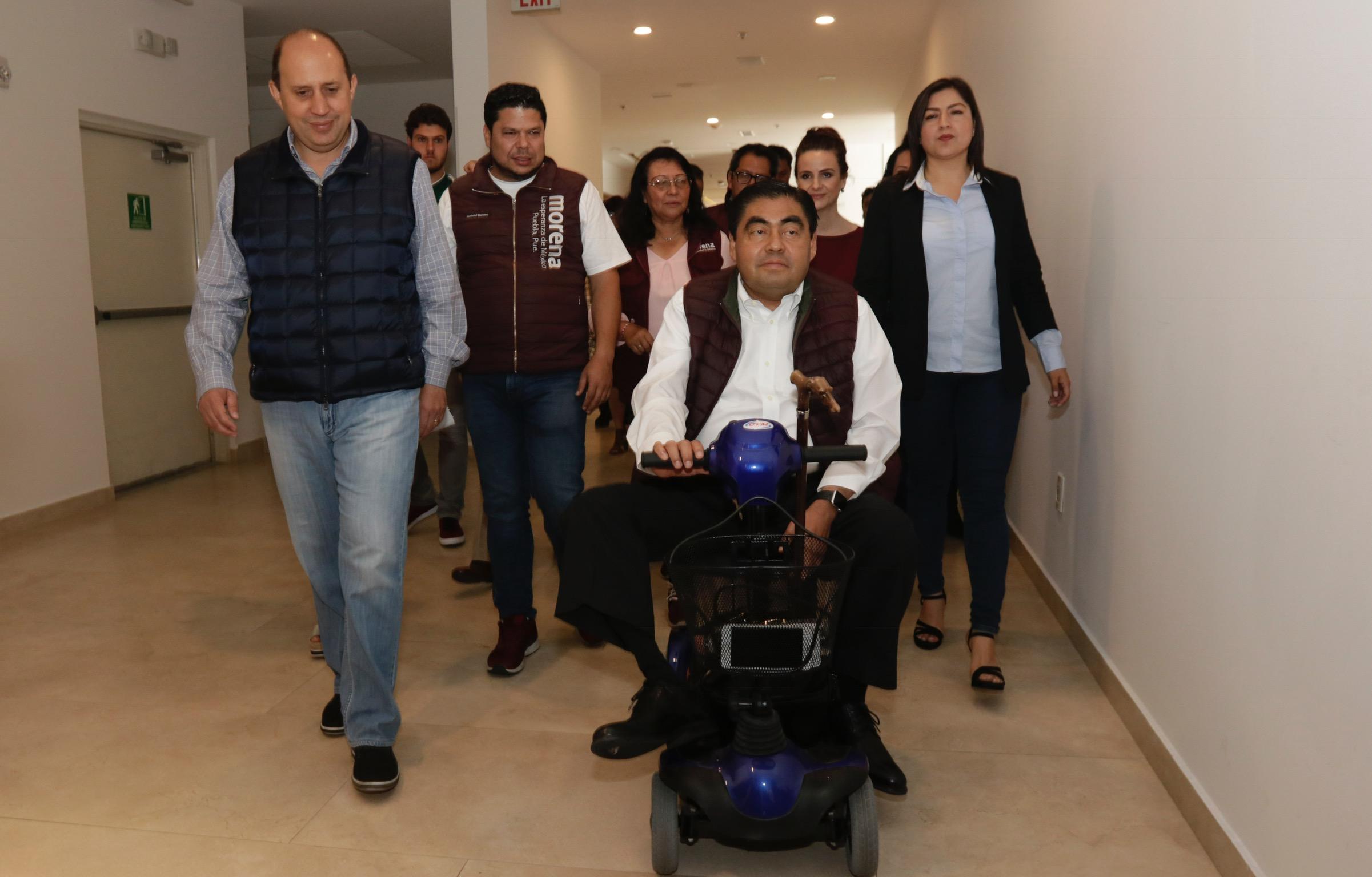 Advierte Barbosa que defenderá triunfo por el gobierno de Puebla