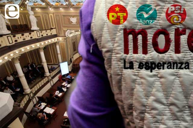 Por sobrerrepresentación, Morena cedió 3 pluris