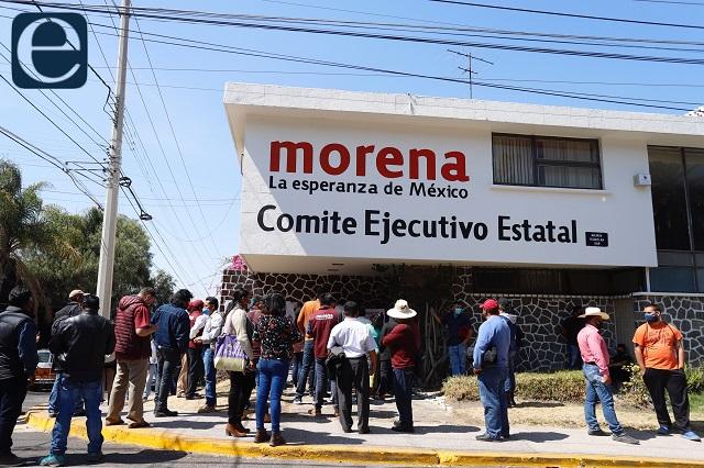 Militantes de Morena piden dirigencia que venga de las bases