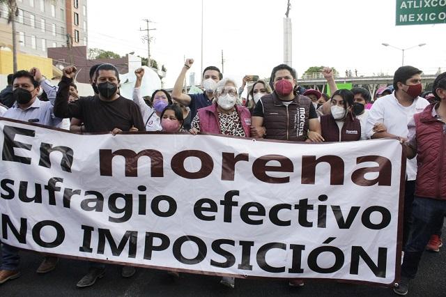 Espera a Morena una serie de impugnaciones, señala Barbosa