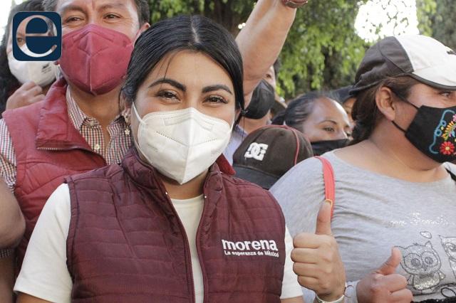 Que Nora Merino deje curul para irse a campaña: Espinosa