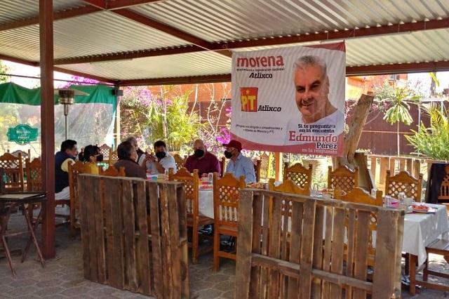 Surgen conflictos en contienda interna de Morena-PT en Atlixco