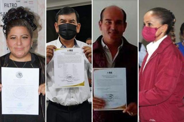 Candidatos de Morena en Tehuacán reciben actas de mayoría