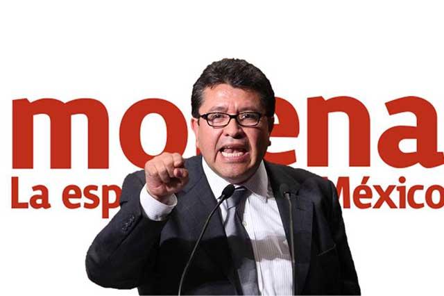 Monreal casi termina periodo en Morena