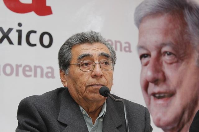 El Congreso hace poblano al precandidato de Morena