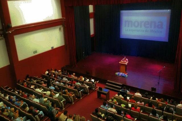Advierten en Morena llegada de oportunistas en Puebla