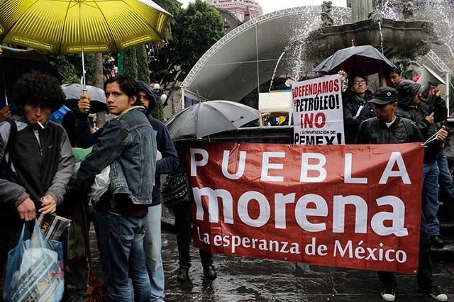 Siempre sí pospone Morena elección de consejeros en Puebla