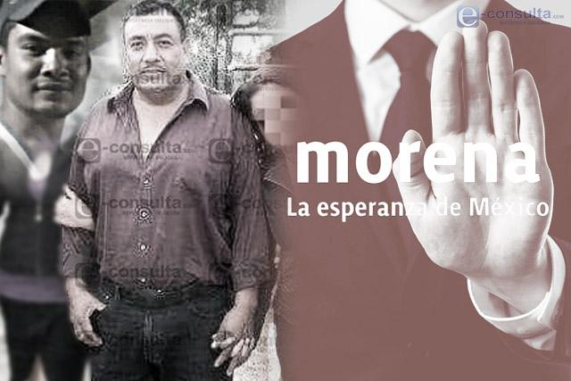 Bajan candidatura del tío del Kalimba en coalición de Morena