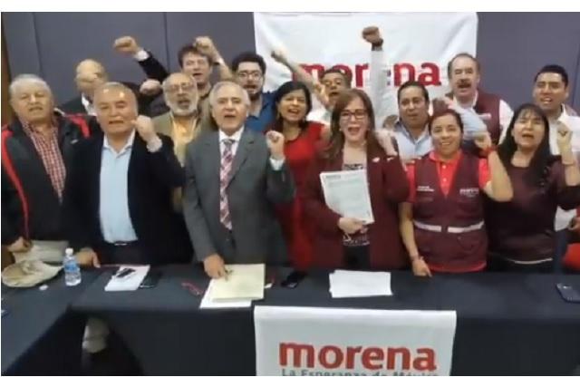 Ratifica CEN a Miguel Barbosa como candidato de Morena en Puebla