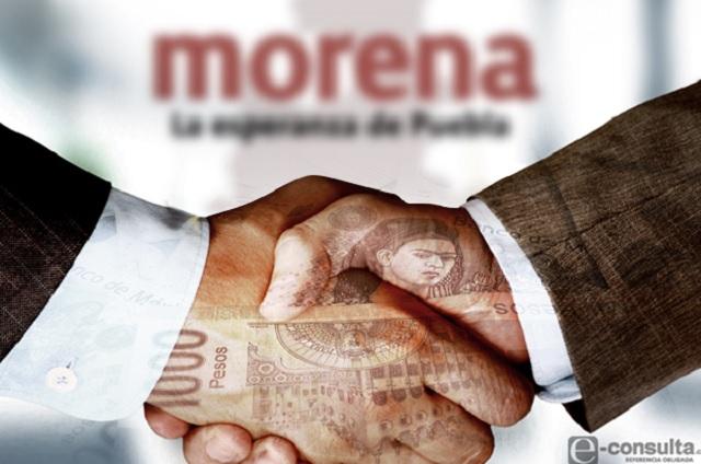 Se forrará Morena con dinero privado hasta por 36.7 mdp
