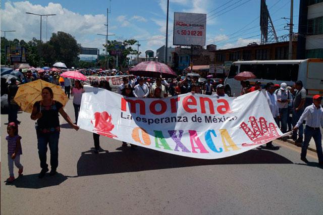 Sección 22 de la SNTE ordena orientar el voto hacia candidatos de Morena