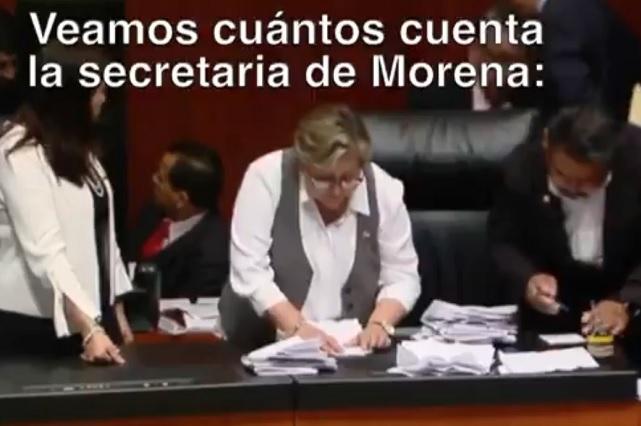Hallamos uno de los 2 votos que se robó Morena para CNDH, dice el PAN