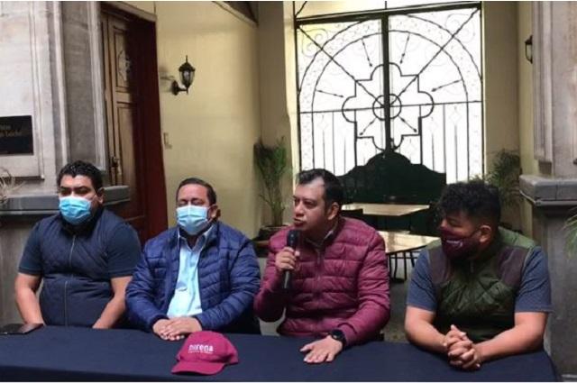 Morenistas dicen a Barbosa que no olvide que es de la 4T