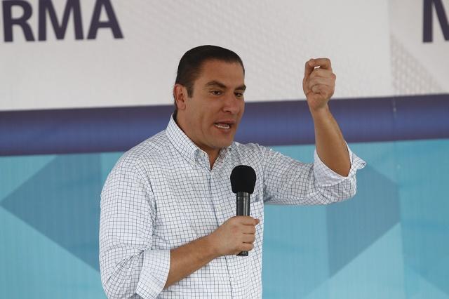 Propone Moreno Valle enajenar predios en cinco municipios