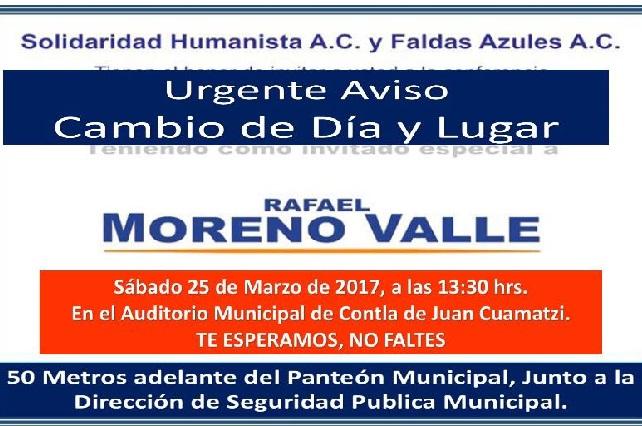 Le da miedo y recula en la sede por visita de Moreno Valle a Tlaxcala