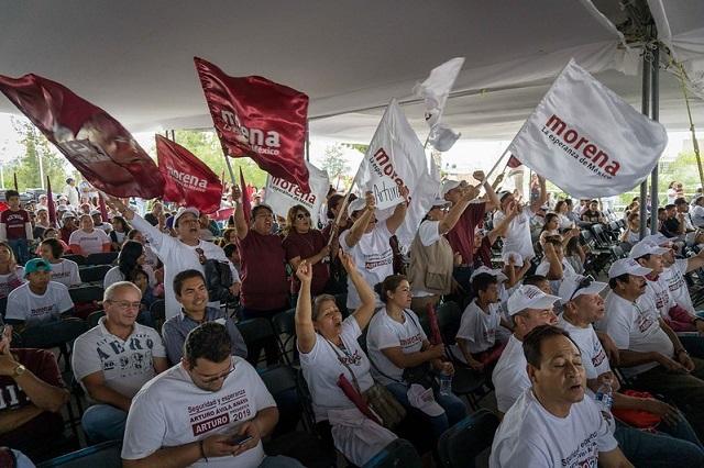 Impugnan diputados de Puebla proceso de expulsión de Morena