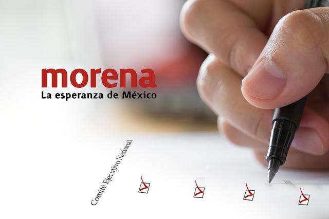 Morena va con 4 hombres y 2 mujeres por diputaciones de Puebla