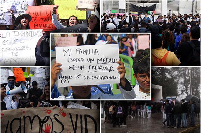 De Puebla a España, los paros y protestas por médicos asesinados