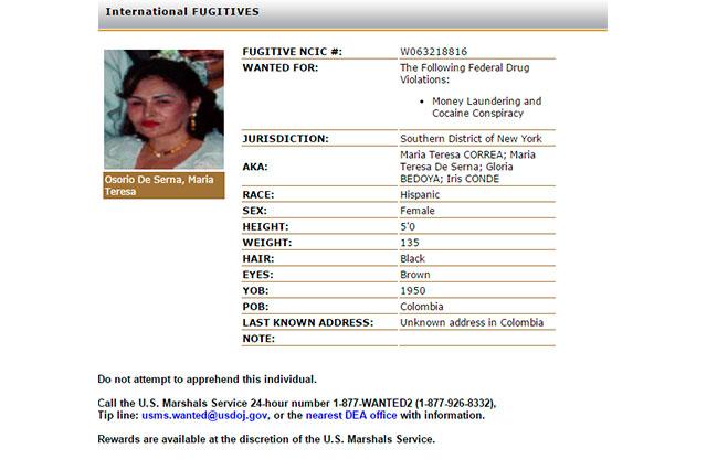Tras captura de El Chapo, una mujer encabeza la lista de los más buscados